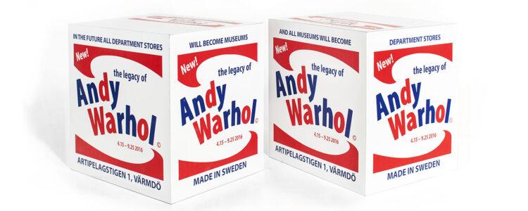 Arvet efter Andy Warhol – Artipelag